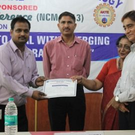 2013-AICTE NATIONAL CONFERENCE