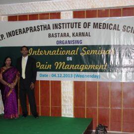 2013-INTERNATIONAL SEMINAR PAIN MGT
