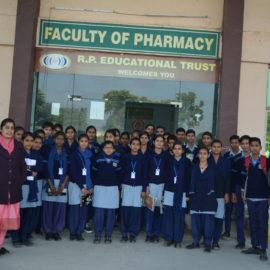 Govt Girls School Students Visiting Pharmacy Dept