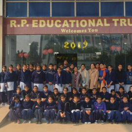 Govts School Students Visiting College