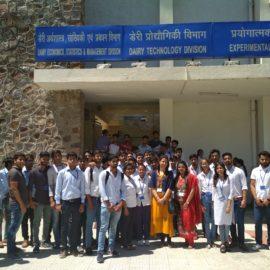NDRI-Industrial Visit by Pharmacy Dept