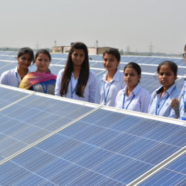 Science Camp On Solar Grid Working